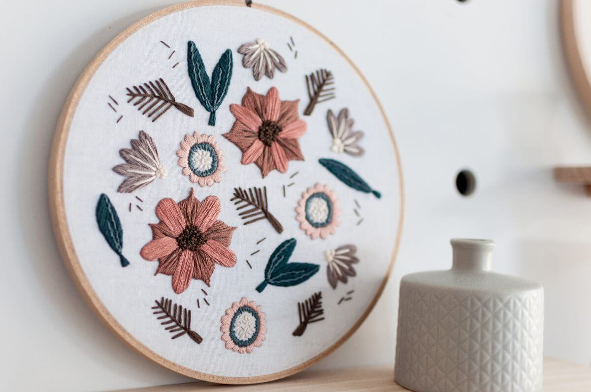 Falls Melody Embroidery pattern PDF Digital Download