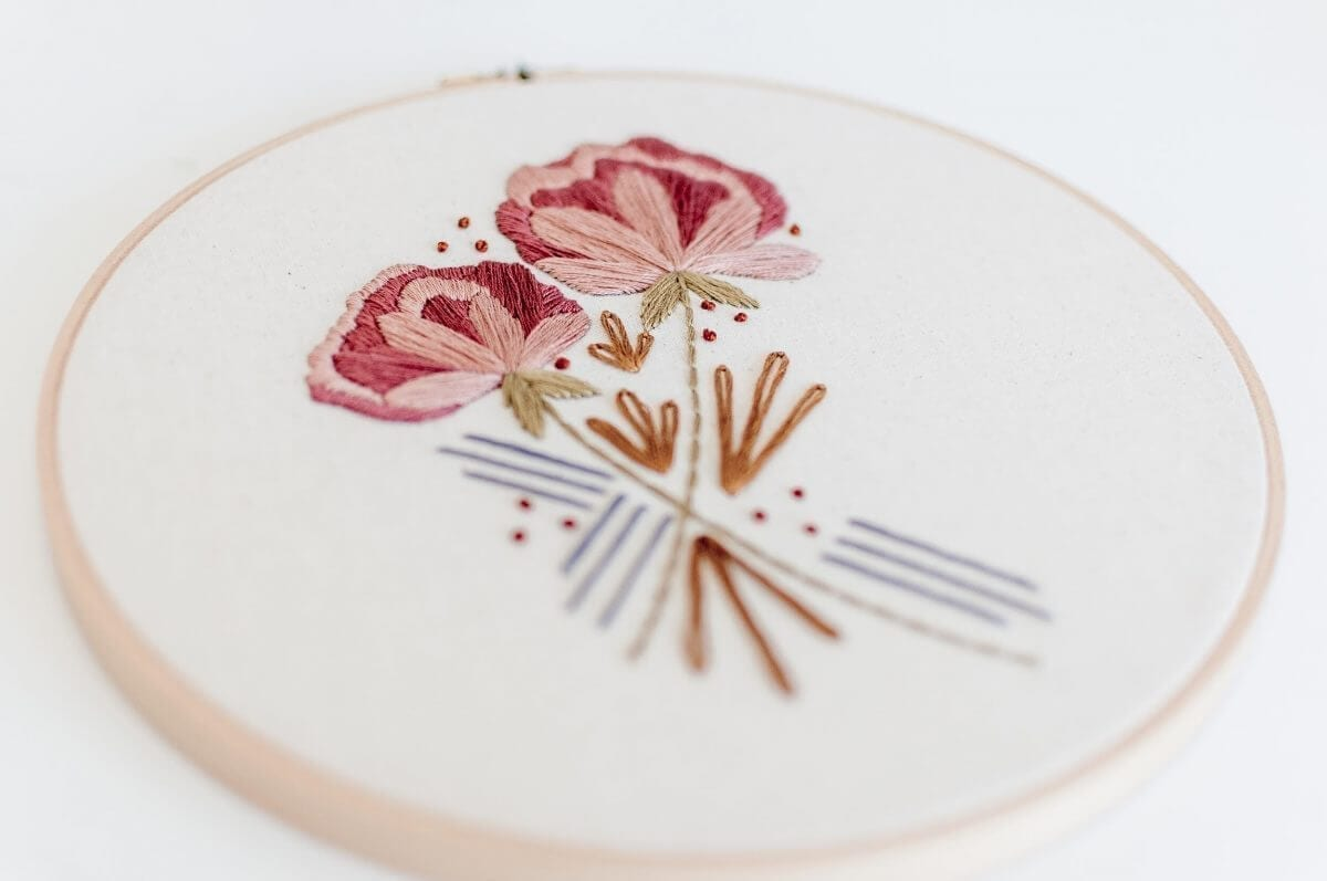 Desert Haze Embroidery pattern PDF Digital Download