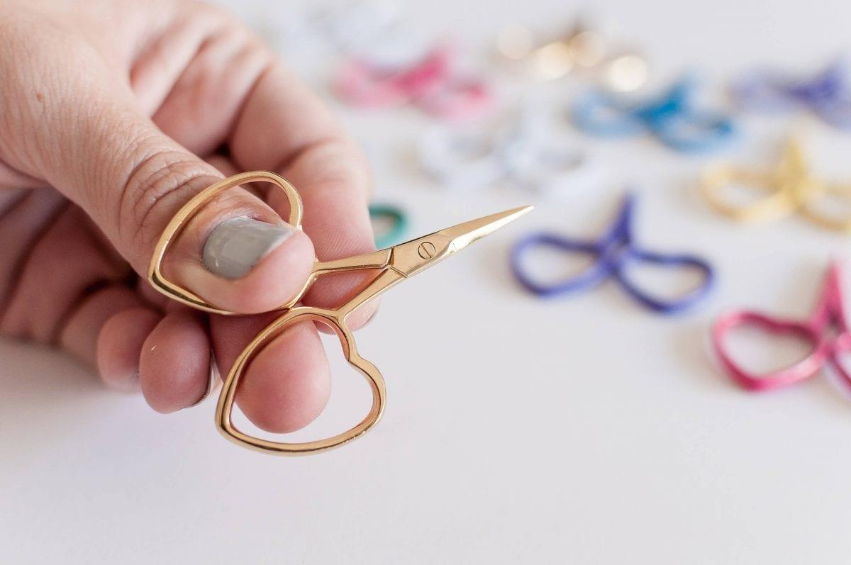 Kelmscott Designs Little Love Needlecraft & Embroidery scissors