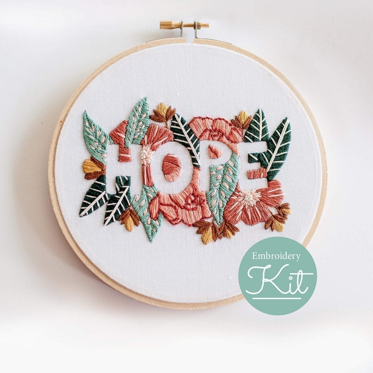 Do it yourself HOPE Embroidery Kit