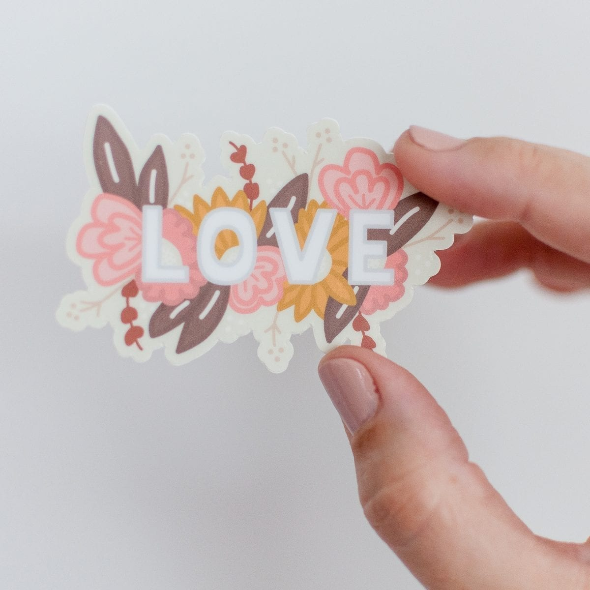 LOVE Vinyl Sticker