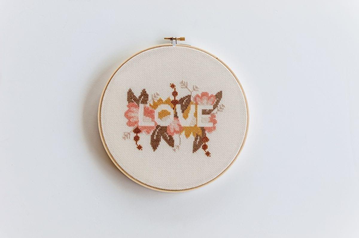 Love Do It Yourself PDF Cross Stitch Pattern