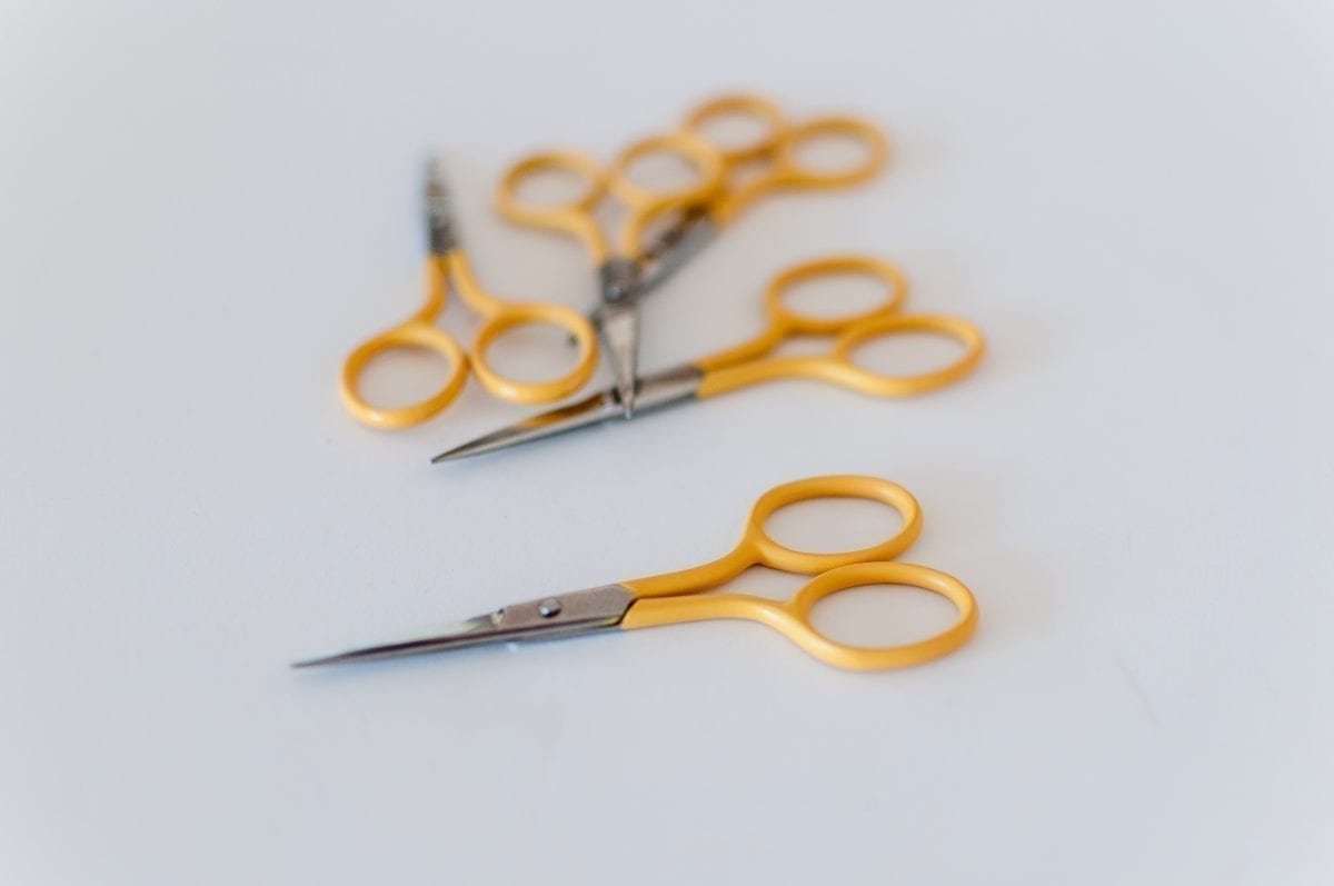 Round Needlecraft Scissors