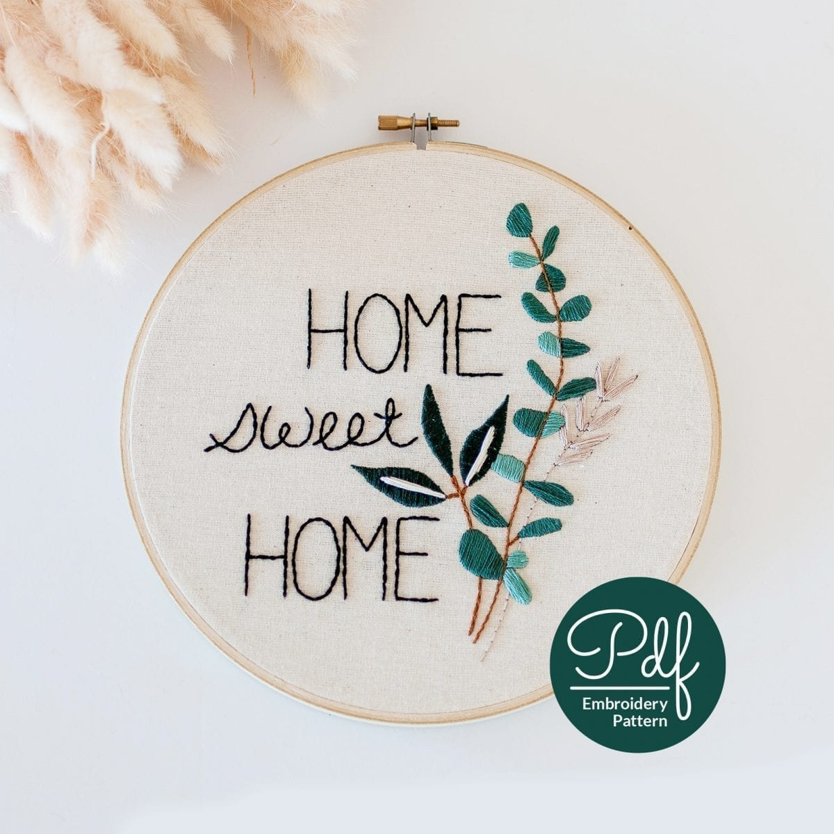Home Sweet Home Do It Yourself PDF Embroidery Pattern