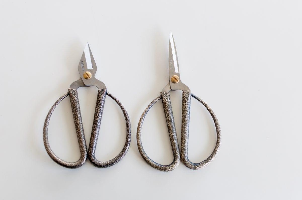 Black & Gold Mottled Craft Scissors