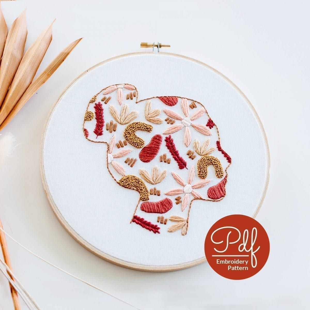 Beautiful You Do it Yourself Embroidery Pattern