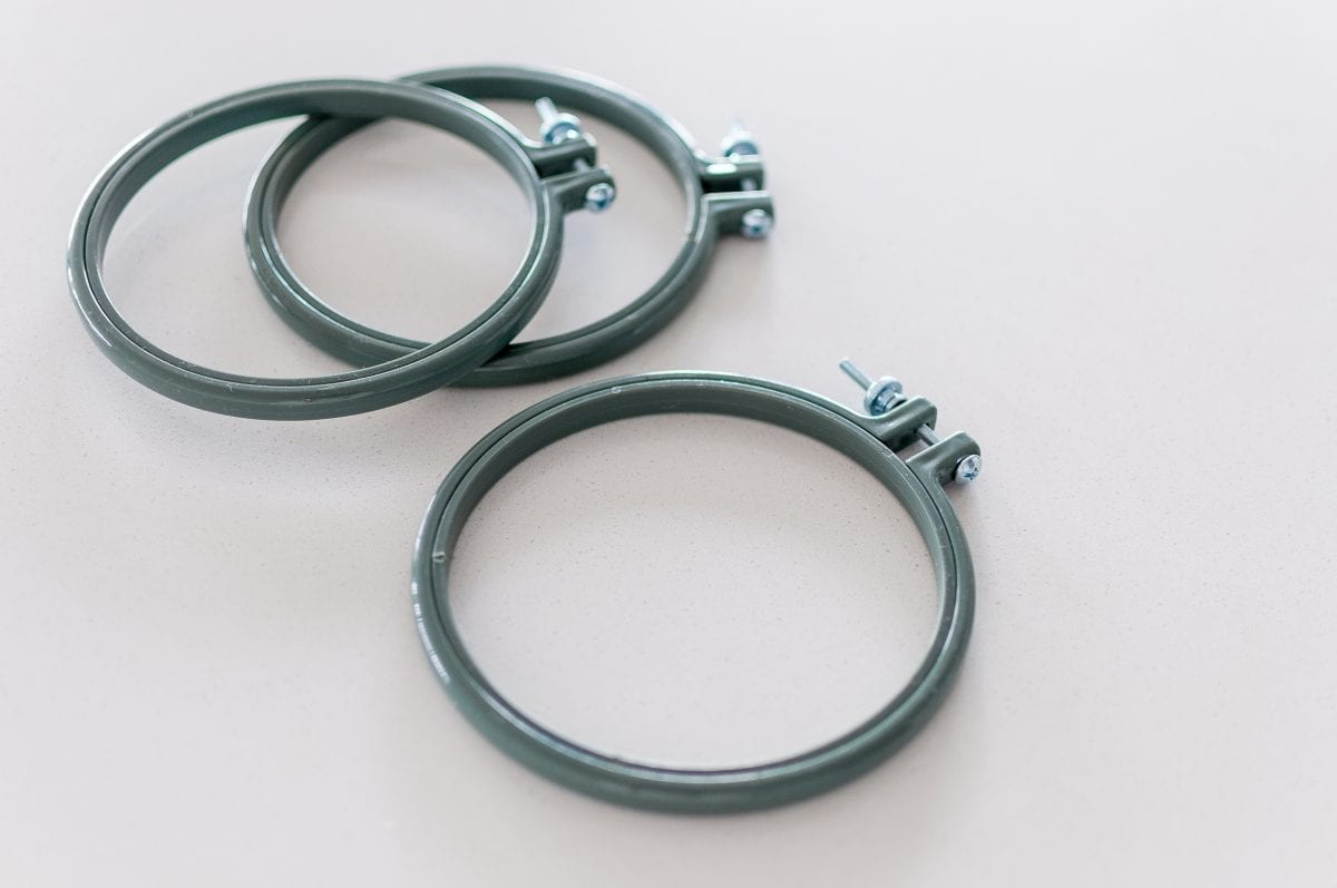 Rico Design Plastic Embroidery Hoops