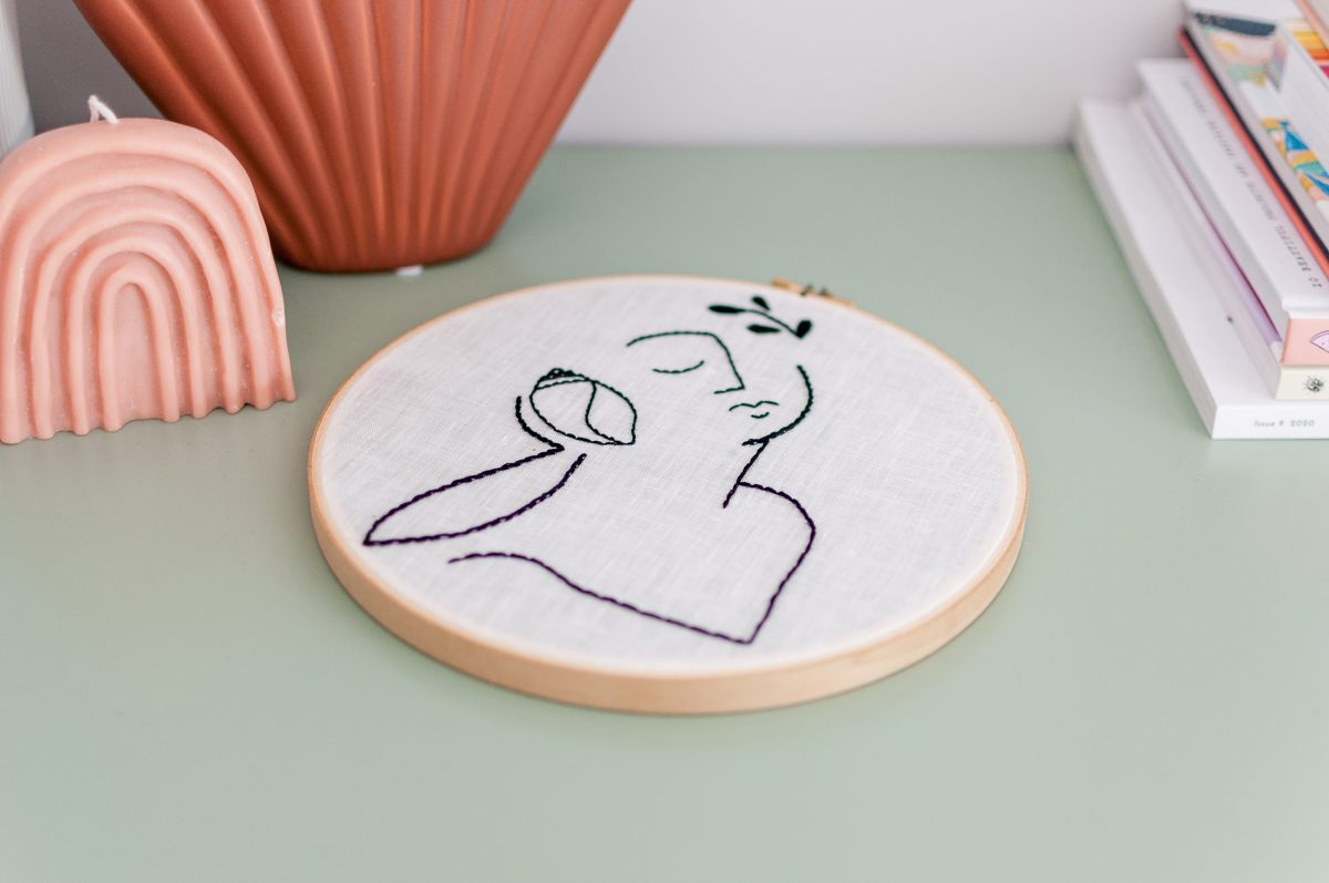 The Conch Shell Whisper Do It Yourself Embroidery Kit