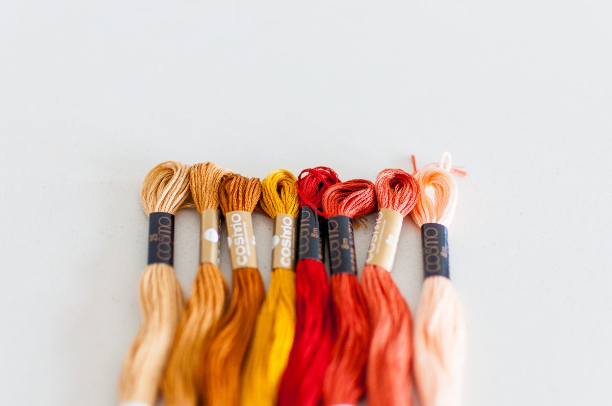 COSMO Cotton Floss Thread Palettes