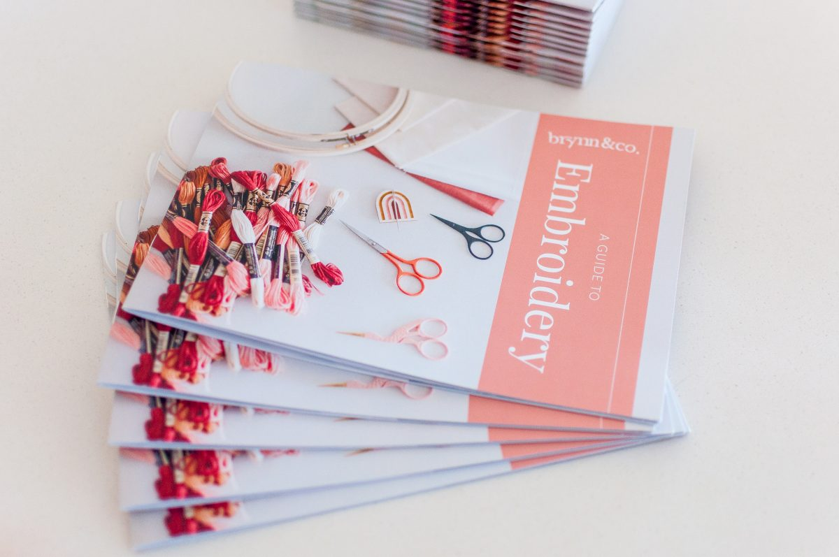 A Guide To Embroidery Print Booklet