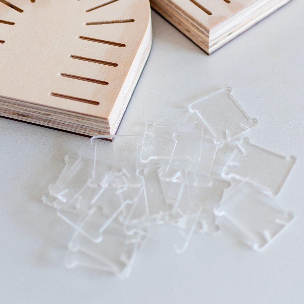 Clear Acrylic Thread Bobbins